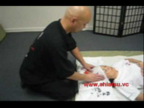 Shiatsu Demonstration 6 Supine Position (Head)