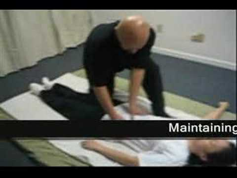 Shiatsu Demonstration 9 Supine Position (Abdomen)