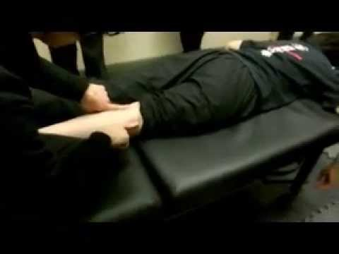Shiatsu Treatment for  Lower Back Pain
