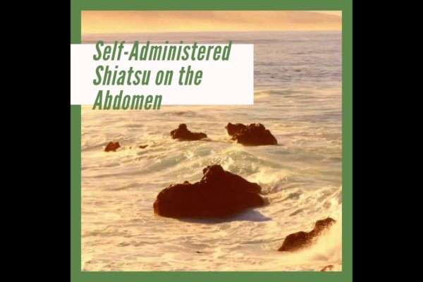 Self-administrated Shiatsu on Abdomen